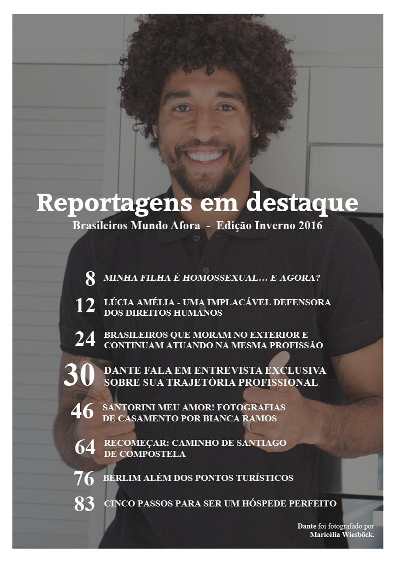 Brasileiros Mundo Afora - Reportagens em destaque