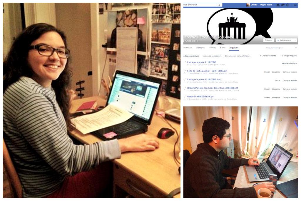 Nos bastidores do III Encontro Europeu de Blogueiros